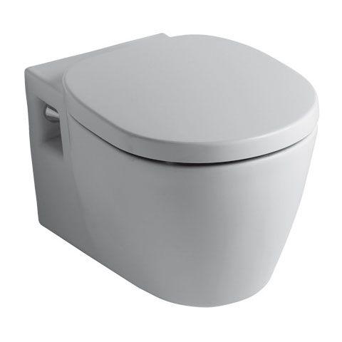 A blanchit de partout d but des enduits fin des cloisons et fin de l - Cuvette wc suspendu ideal standard connect ...