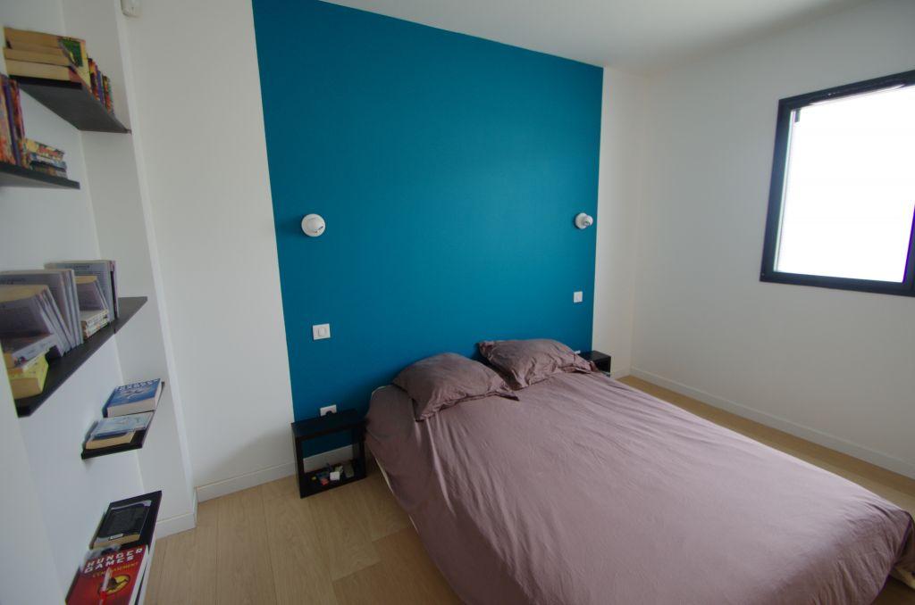 Mur t te de lit cote d 39 or - Peindre tete de lit mur ...