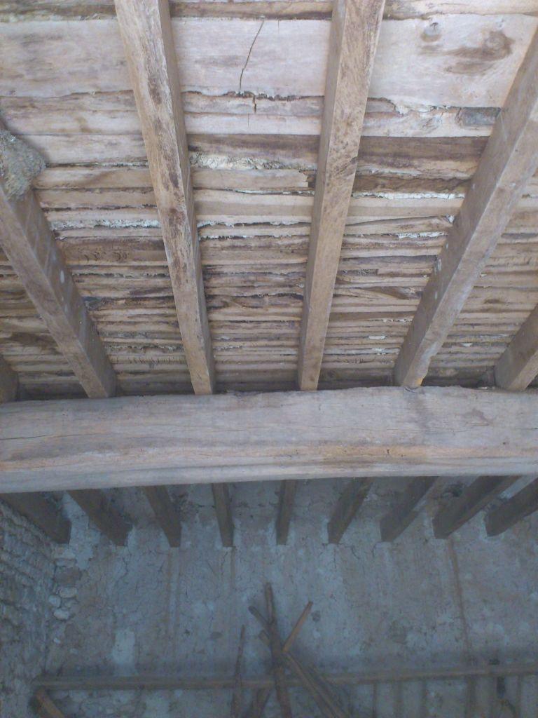 R novation maison en pierre eure et loir for Refaire un plancher bois