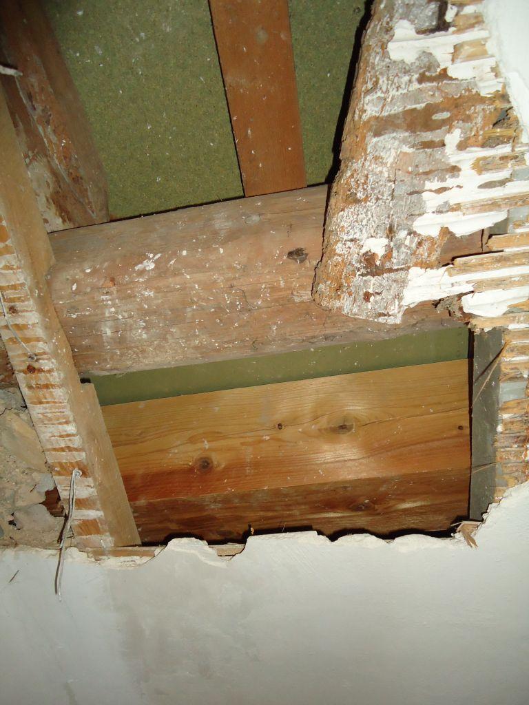 Plafond de la chambre du 2ème