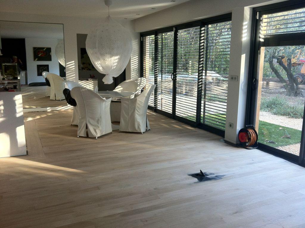 Espace parental 50m2 sols noir - Gard (30) - novembre 2012