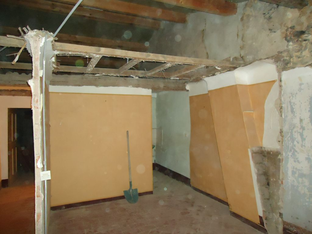 Suppression plafond dépendance chambre sud 2ème