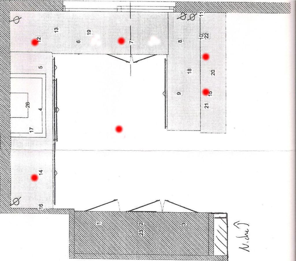 Avis sur emplacement spots cuisine - Spot plafond cuisine ...