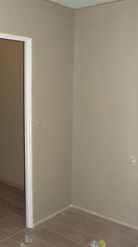 La cuisine sans les plastiques peinture chambre for Peinture murale beige dore