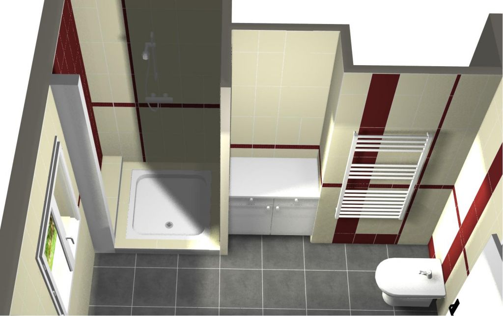 Plans et etudes faience salle de bains carrelage for Outil miroir photoshop