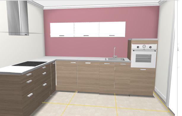 Couleur Peinture Gris Perle :  Ikea  Types de Cuisine Cuisine Ikea Sofielund Noyer Gris Clair Avis[R