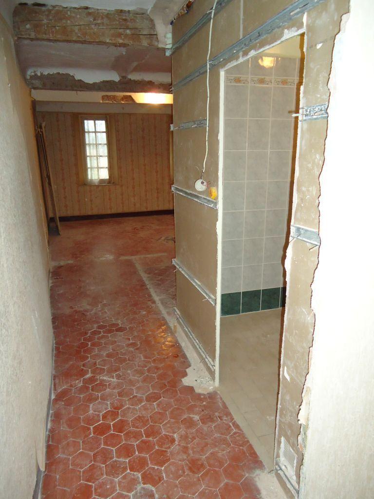Suppression cloison salle de bain de la chambre du 1er nord
