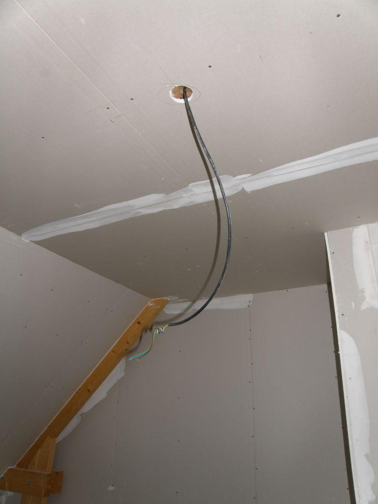 éclairage plafond