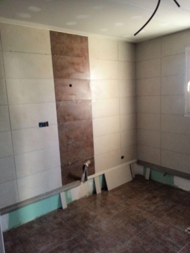 Salle de bain potillon et cloture fin faience salle de bain colombier a - Fin de serie salle de bain ...