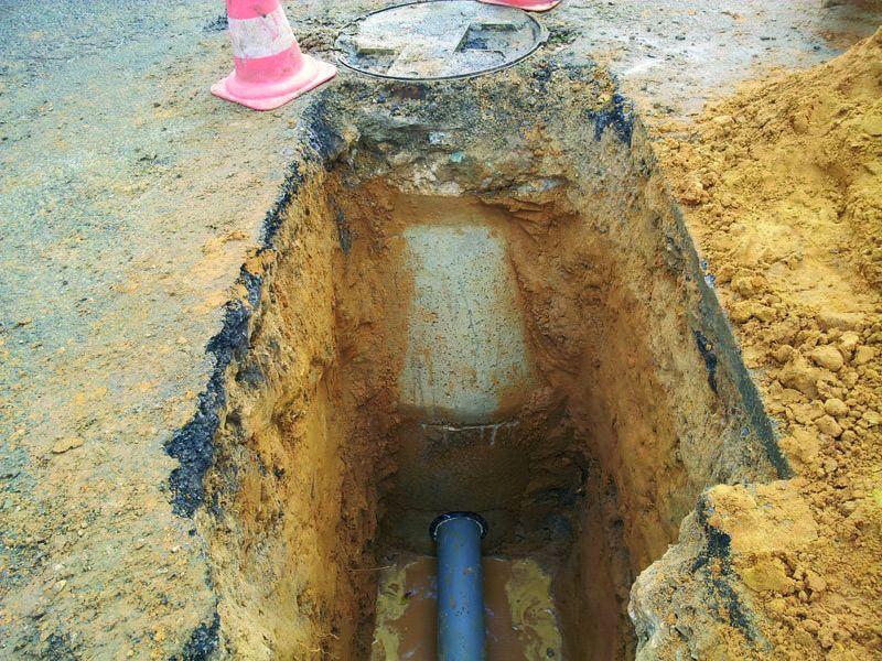 Raccordement l 39 eau potable et aux gouts termin s - Prix raccordement eau potable ...