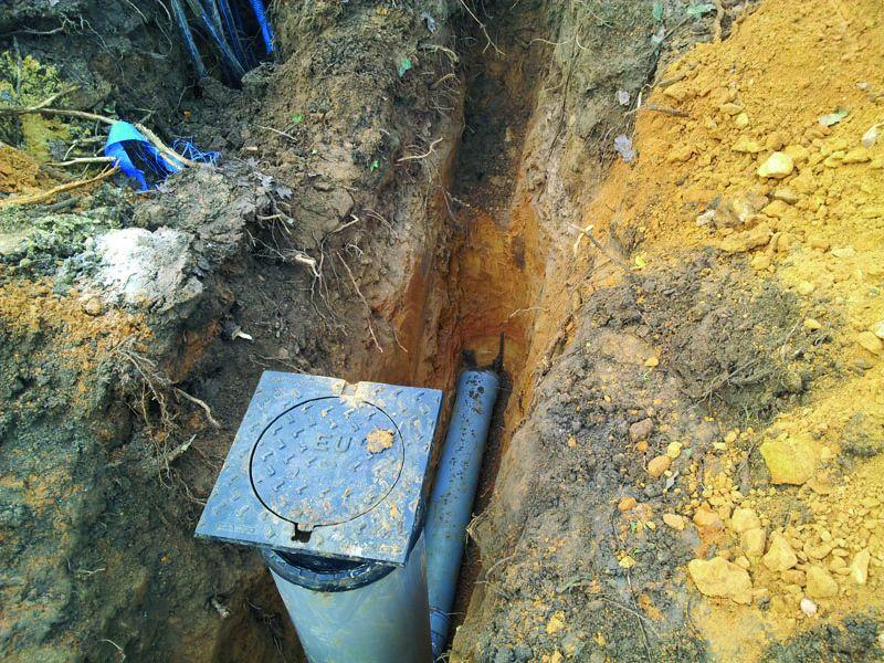 Raccordement à l'eau potable et aux égouts terminés