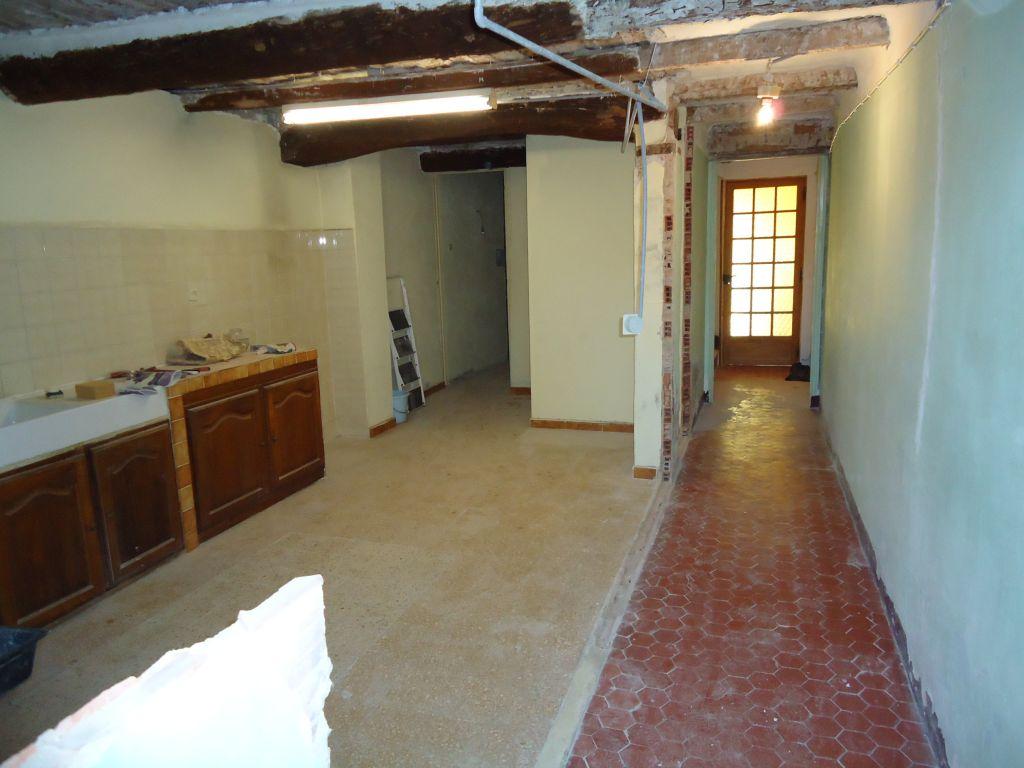 Suppression de la cloison couloir-cuisine