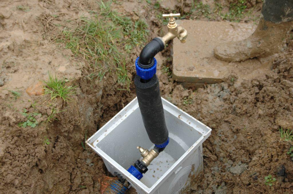 Robinet de chantier c 39 est fait liquidation judiciaire - Comment isoler un compteur d eau exterieur ...