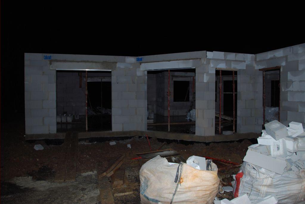 4ème jour murs : façade sud espace vie