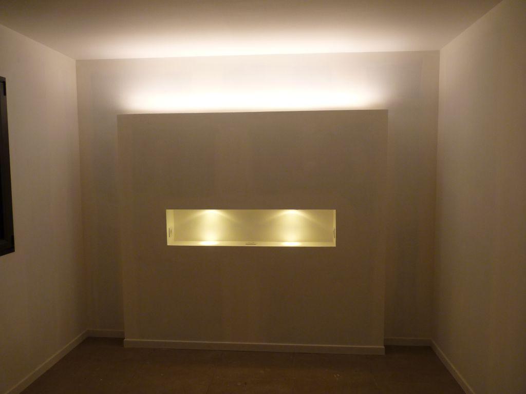 photo eclairage de la t te de lit d coration espace parental haute garonne 31. Black Bedroom Furniture Sets. Home Design Ideas