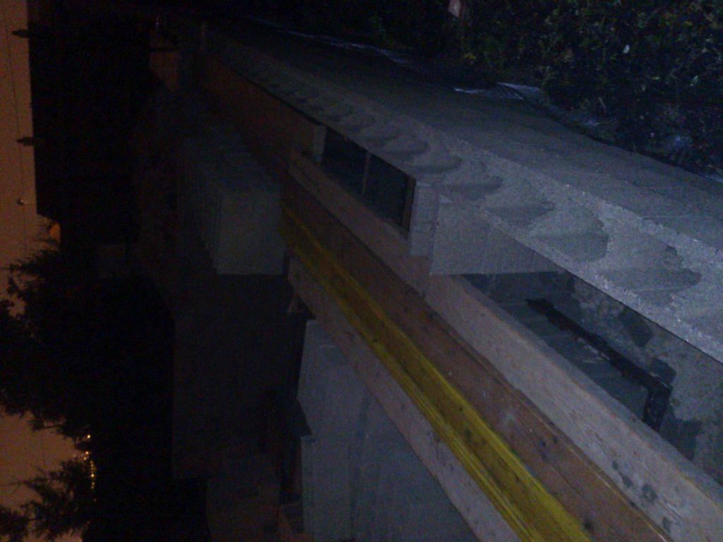 Mur du sous sol
