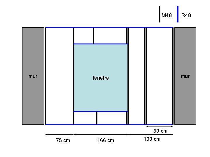 Isolation mur avec ouate sur rail placo 62 messages for Fenetre qui rentre dans le mur