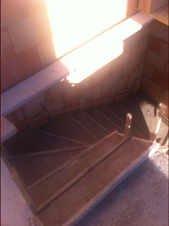 Escalier vue de haut
