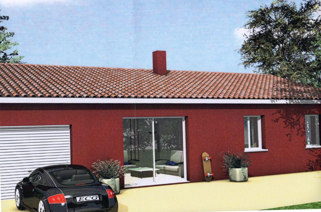 Photo demande de modification de permis de construire l 39 enduit sera rou - Enduit sur brique rouge ...