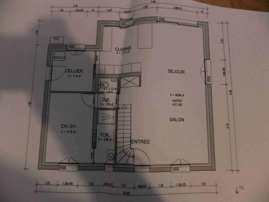 Plan maison r 1 130 m2 34 messages for Budget construction maison 130 m2