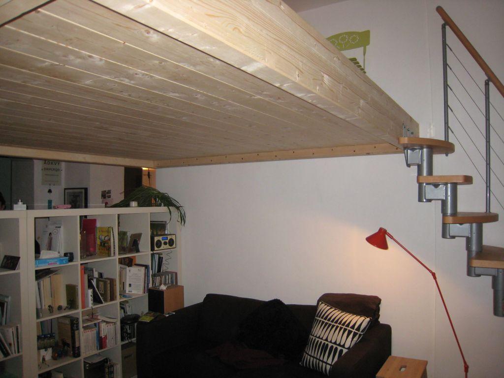 Quelle sections de bois ou de m tal pour ma mezzanine 19 messages - Fabriquer une mezzanine lit ...