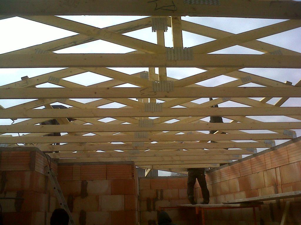 Vue intérieur de la toiture vue du séjour