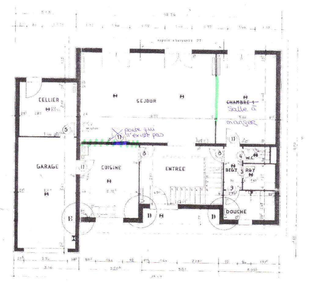 maison sans mur porteur simple ouverture dans un mur porteur bricobistro percer un carrelage. Black Bedroom Furniture Sets. Home Design Ideas