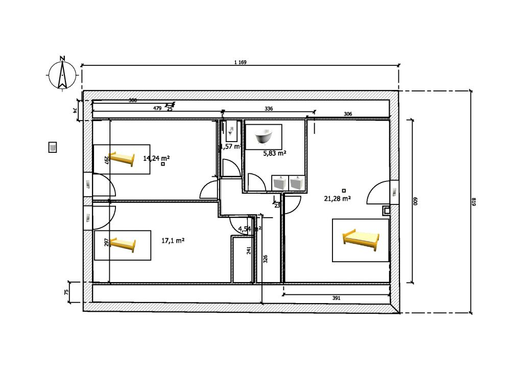 Amenagement de comble - Plan d amenagement de combles ...