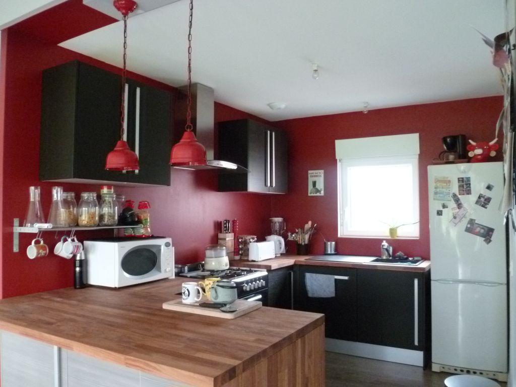 Photo cuisine 9m2 rev tement peinture loire atlantique for Deco cuisine 9m2