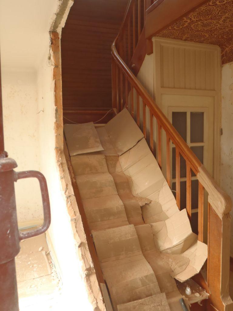 ouverture escalier