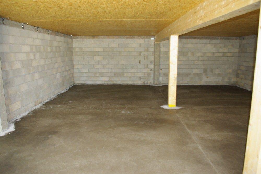 Dalle du garage terminée !