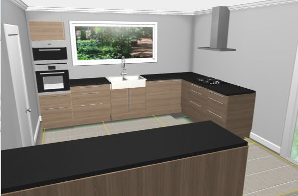 les projets implantation de vos cuisines 8902 messages page 305. Black Bedroom Furniture Sets. Home Design Ideas