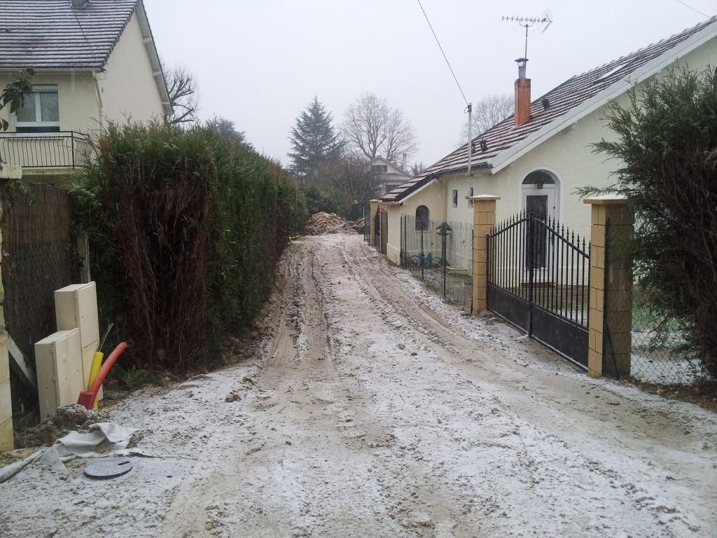 D but du chantier le terrassement et les fondations for Terrassement et fondation