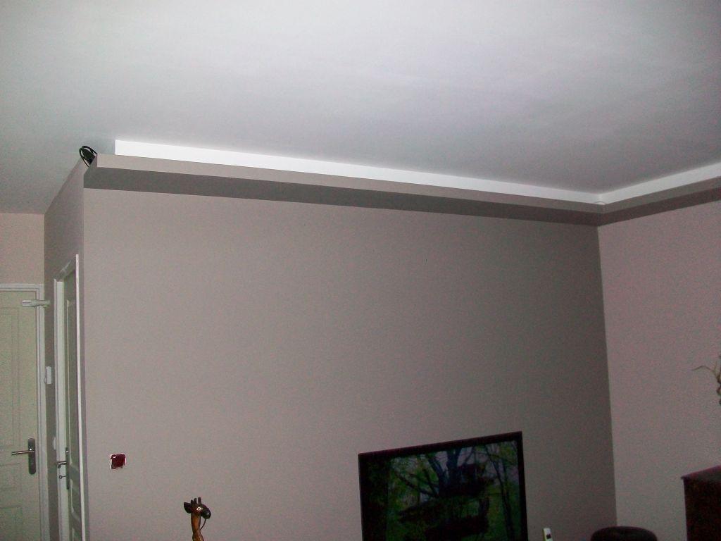Photos de faux plafond avec lumi re indirecte groupes for Bandeau lumineux plafond