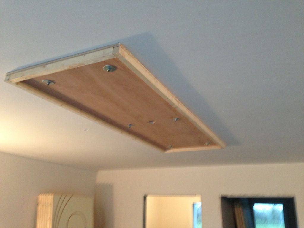 Photos de faux plafond avec lumi re indirecte groupes for Faux plafond platre et bois