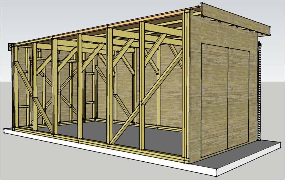 Abris de jardin bois coll maison en limite de propri t - Construction 3m limite propriete ...