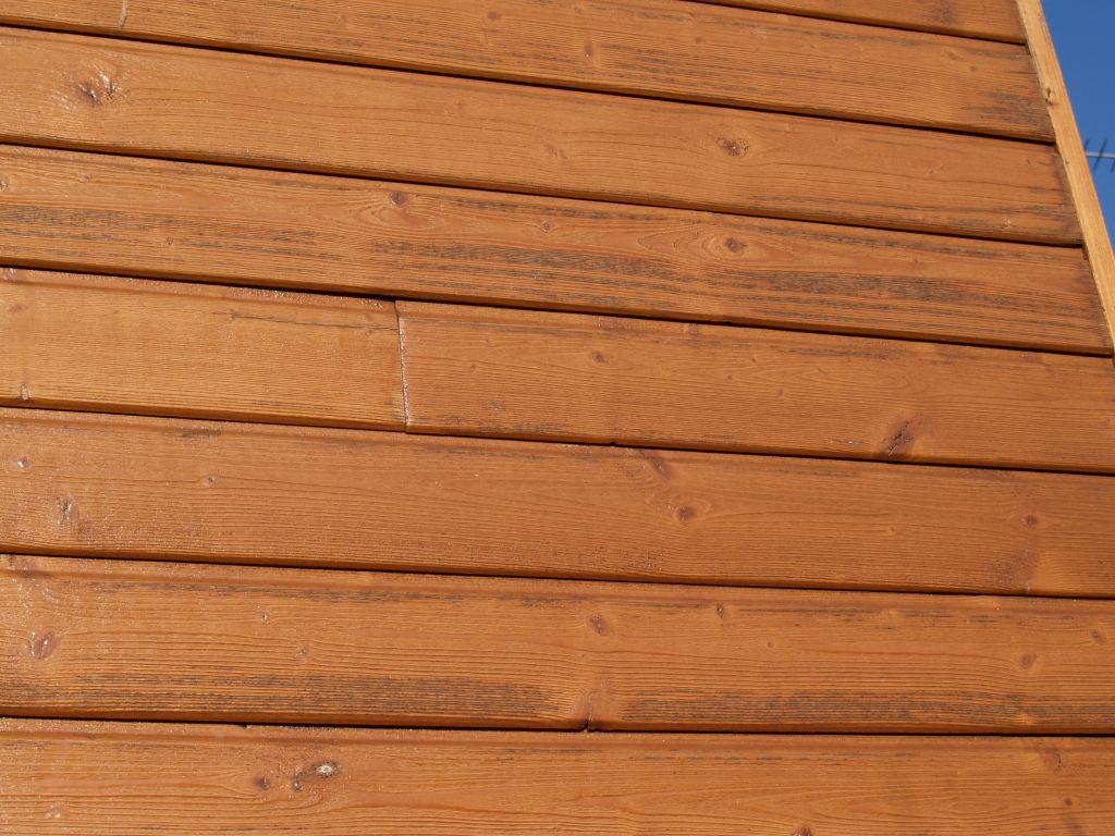 bardage SilverWood Natur posé en décembre 2009