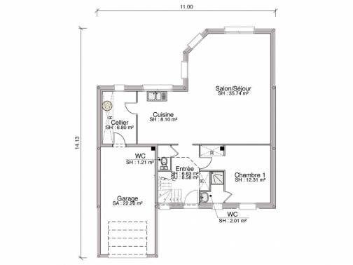 Construction d 39 un porche d 39 entr e non pr vu sur plan 16 - Porte entre maison et garage ...