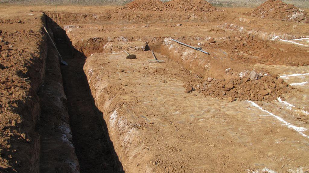 préparation des fondations