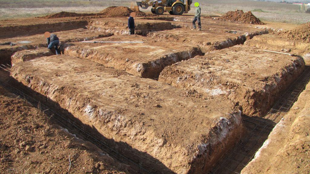 ferraillage des fondations de la maison