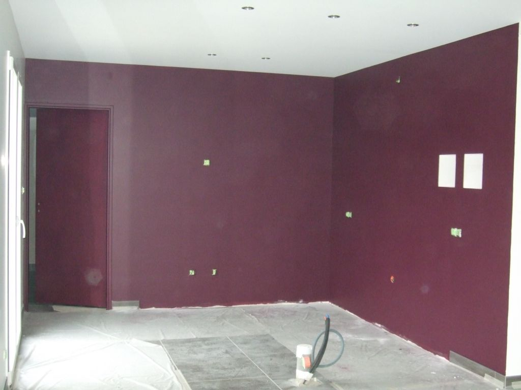 Peinture cuisine meuble salle de bain sommerviller meurthe et moselle for Peinture aubergine cuisine