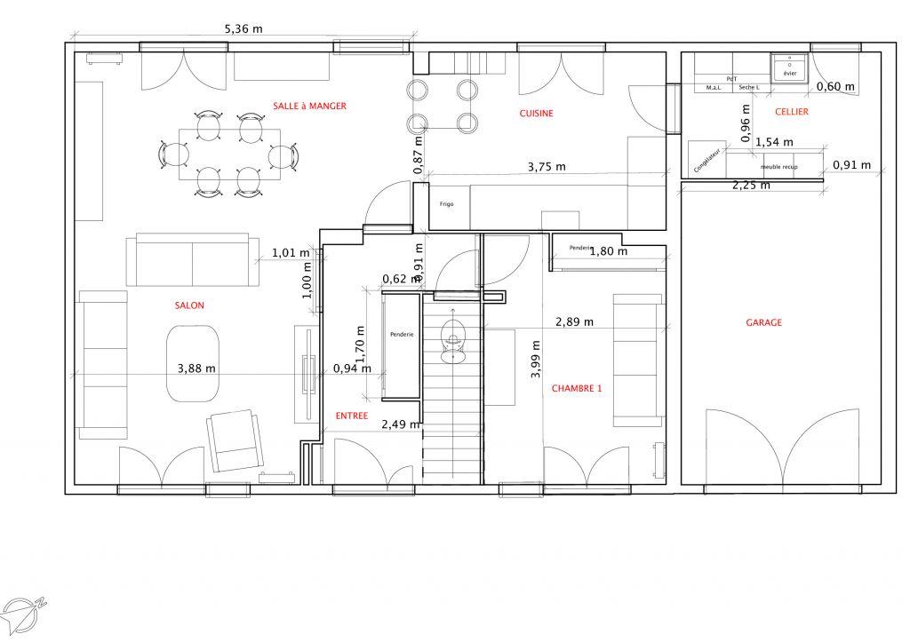 Votre avis sur plans maison de 120m2 36 messages for Plan amenagement maison gratuit