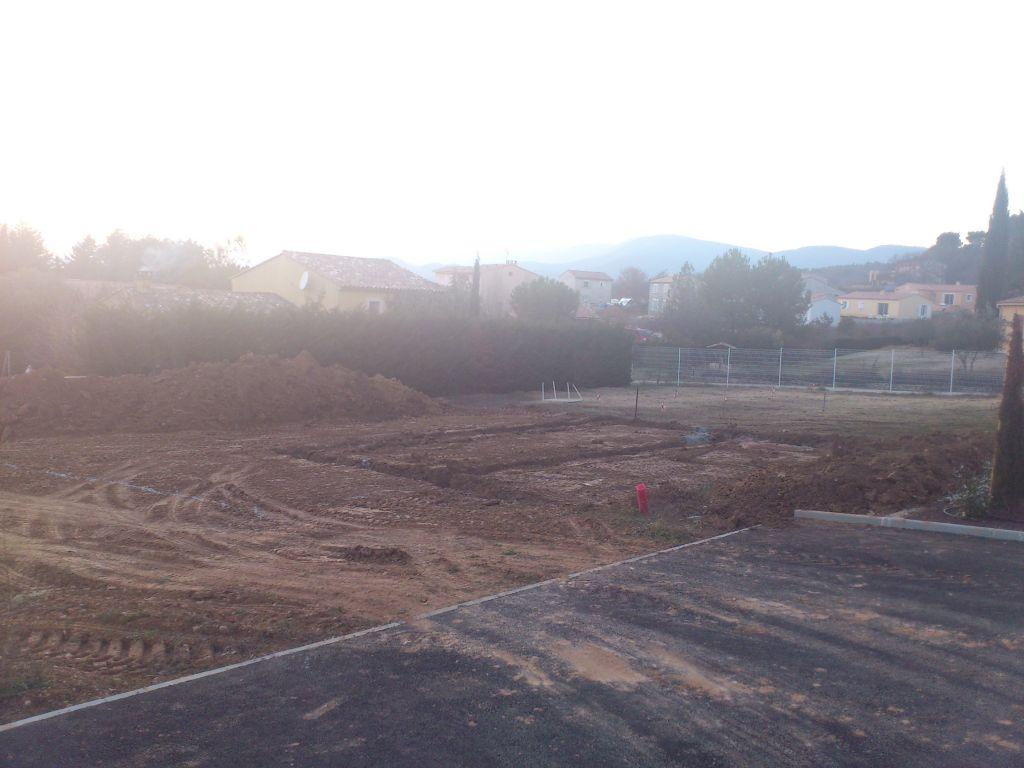 2e jour de chantier: coulage du gros béton