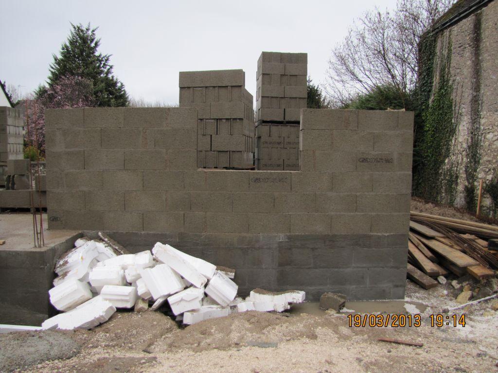 2é jour montage des murs