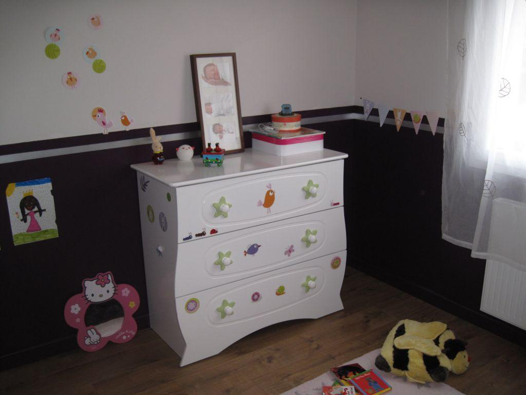 Chambre Fille Aubergine 205105 La