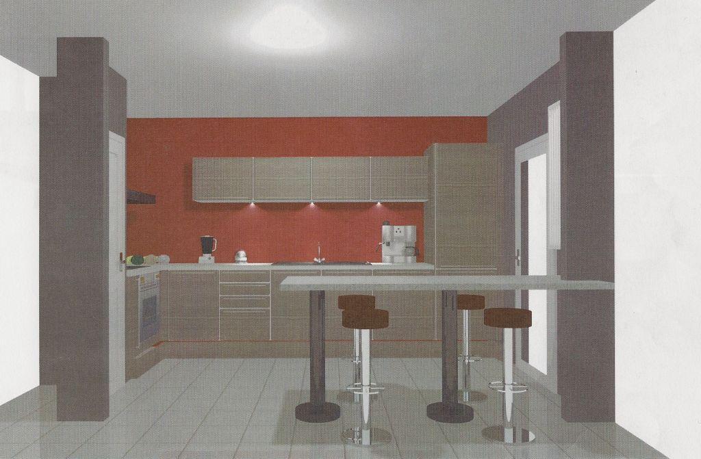Plan de travail separation cuisine sejour awesome - Plan de travail separation cuisine sejour ...