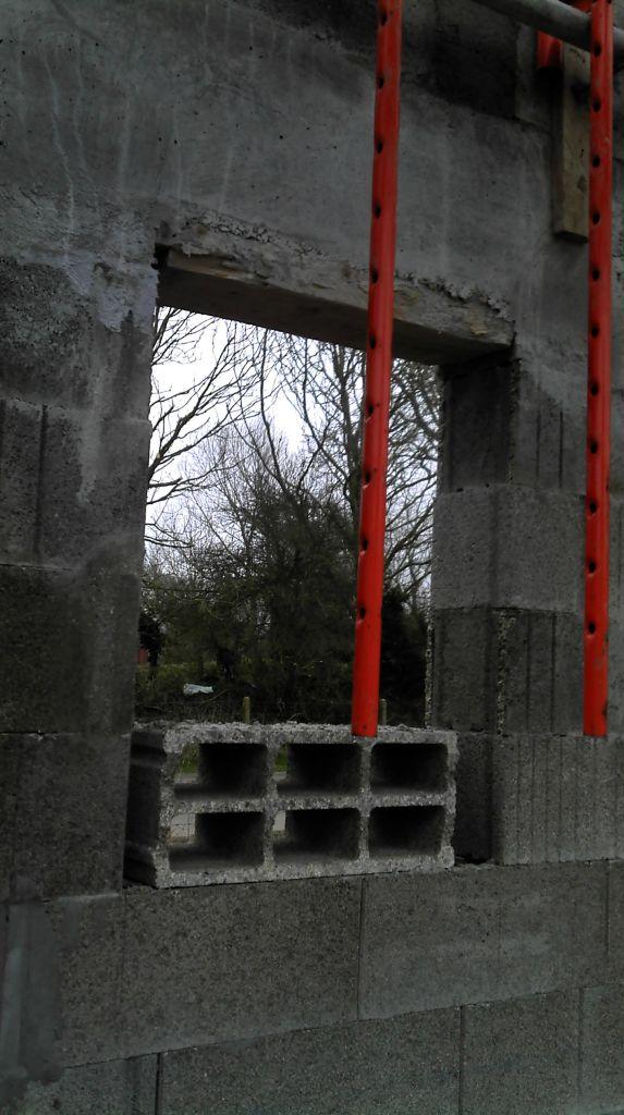 finition des linteaux