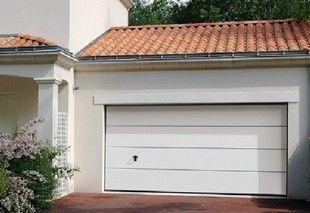 Porte de garage lisse