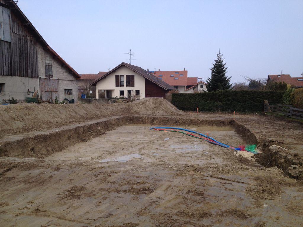 terrassement en cours