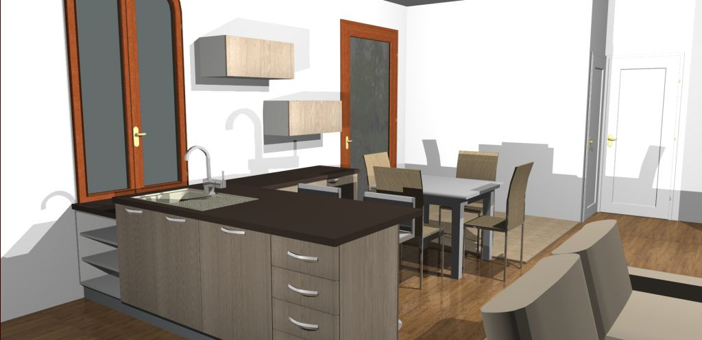 les projets implantation de vos cuisines 8902 messages page 314. Black Bedroom Furniture Sets. Home Design Ideas